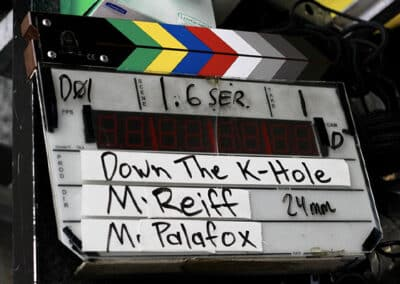 Down the K-Hole filmed at The High House in LA