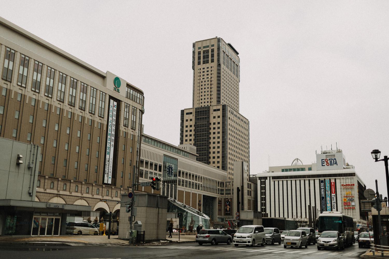 Image of Sapporo street