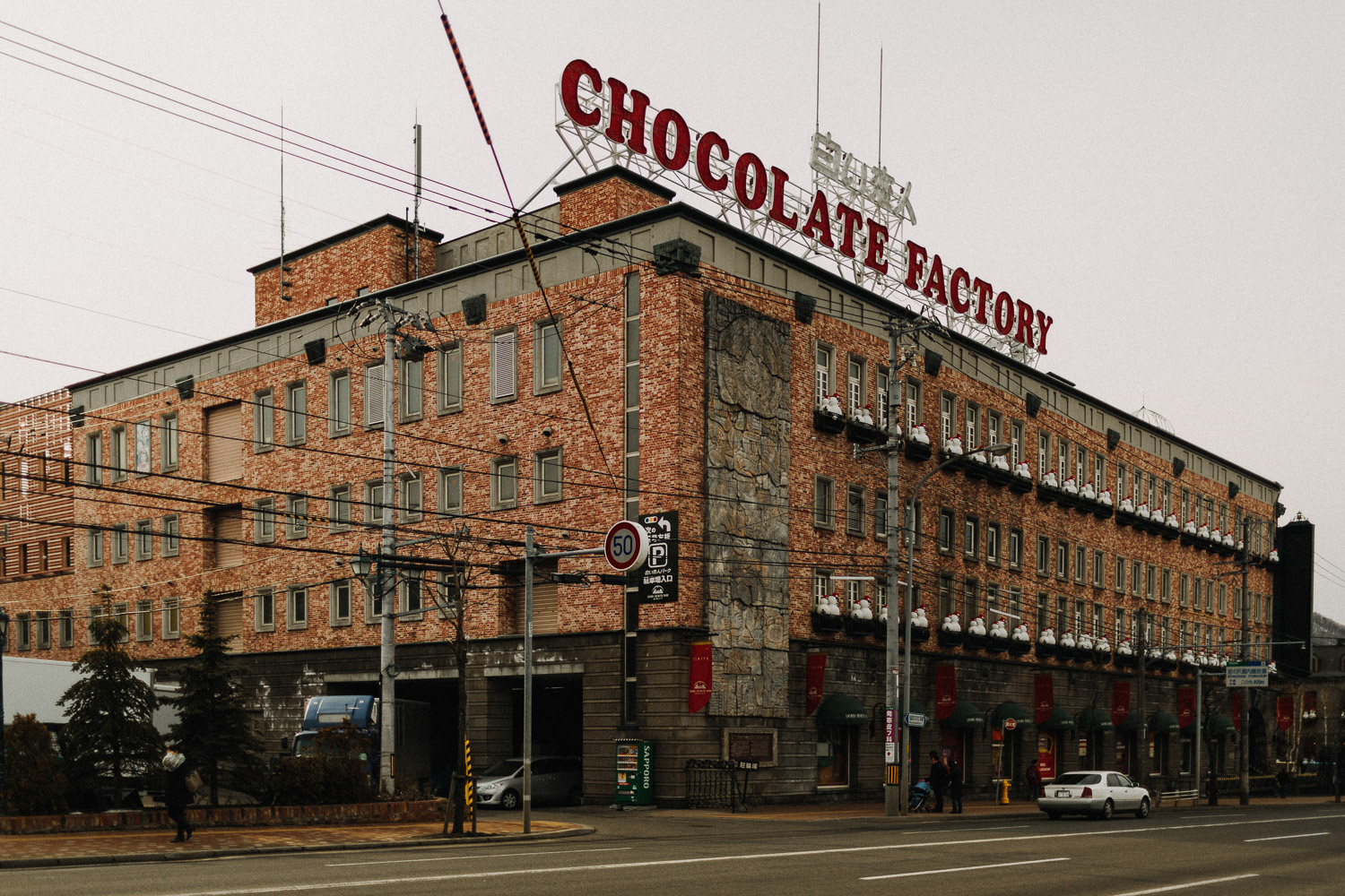 Image of Chocolate Factory building