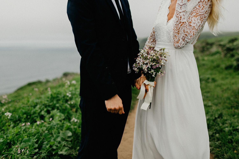 Image of the elopement bouquet