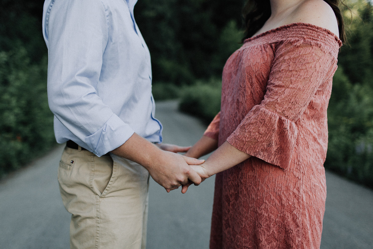 Image of couple's hands