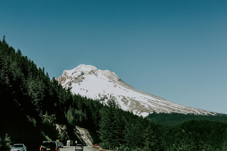 Image of Mt Hood in Portland