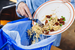 green resolutions - food waste