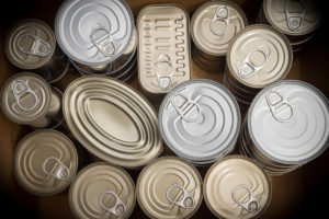 Reduce recyclable waste - cans