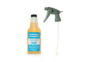 Each bottle of Invisible Spray includes a special chemical-resistant trigger sprayer!