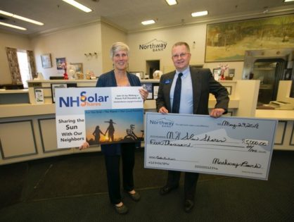 Northway Bank Joins NH Solar Shares as a Business Sponsor