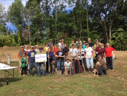NH Solar Shares Equinox Extravaganza Volunteer Work Day a Big Success