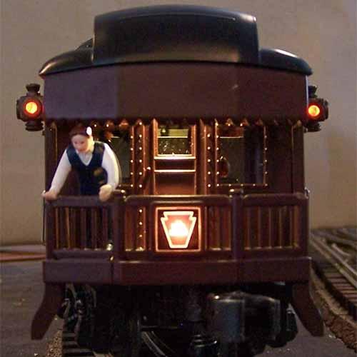 O Scale Passenger LED Lighting