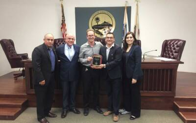We recognized the City of Coachella for their 65 years of partnership in Adult Education