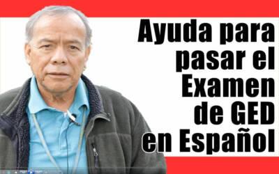 Ayuda para pasar el examen de GED en Español