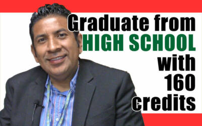 Graduate from High School with 160 credits