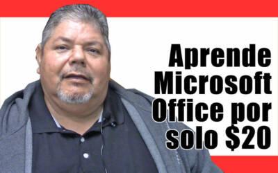 Aprende Microsoft Office por solo $20