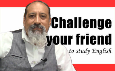 Challenge your friends to study English