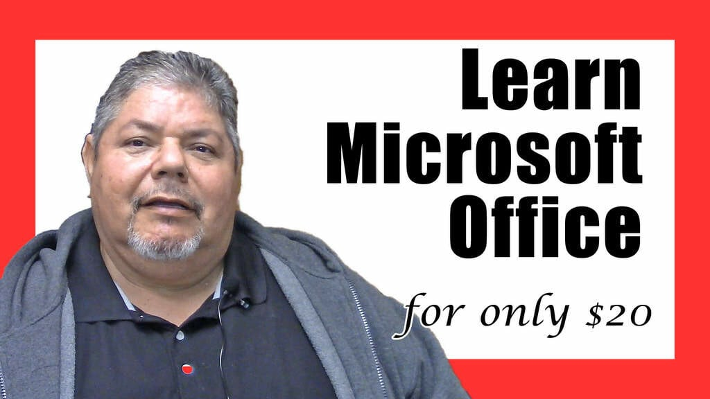Learn Microsoft Office for only $20