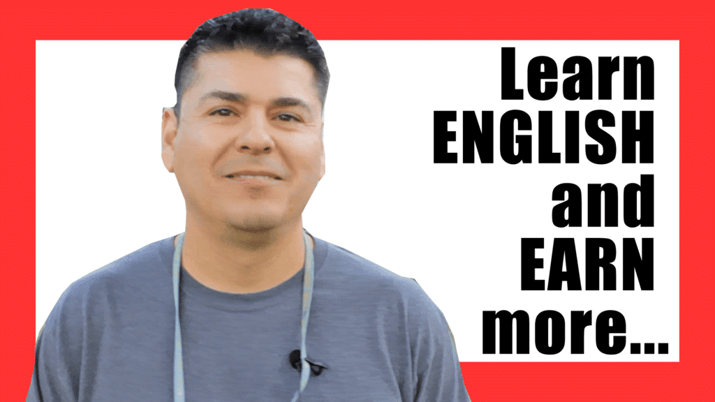 Learn English and earn more