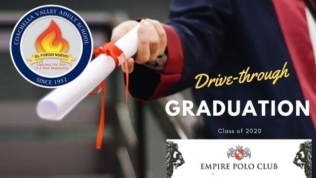 Drive-through Graduation Class of 2020