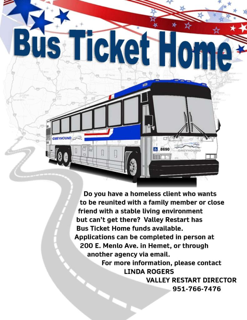Bus Ticket Home