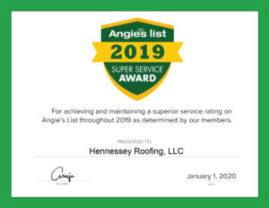 Angies List 2019 Superior Service Award
