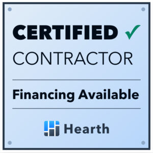 Hearth Certified Contractor Financing Available for your Roofing Project