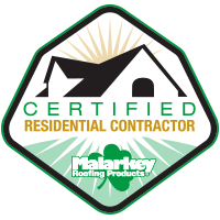 Malarkey Certified Residential Contractor Badge