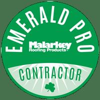 Malarkey Emerald Pro Contractor Badge