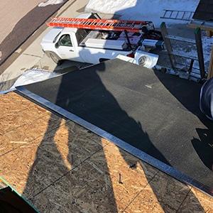 Roof Repair - Castle Rock Ice Damm Mid Repair