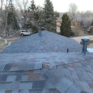 Roof Replacement - After hail damage near fort Carson