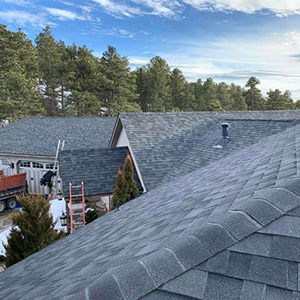 Roof Replacement - After hail damage