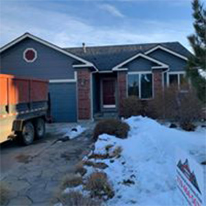 Roof Replacement - After in Peyton, CO Ground Level