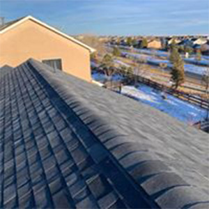 Roof Replacement - After in Peyton, CO