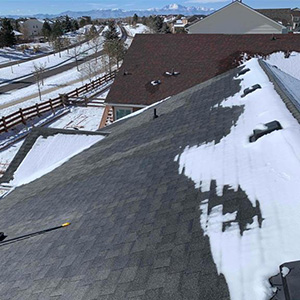 Roof Replacement - Before in Peyton, CO - old age