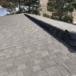 Roof Replacement - Sidewall flashing former shingle