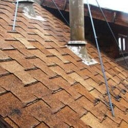 T-Lock Shingle Roof in Colorado Springs that needs replaced