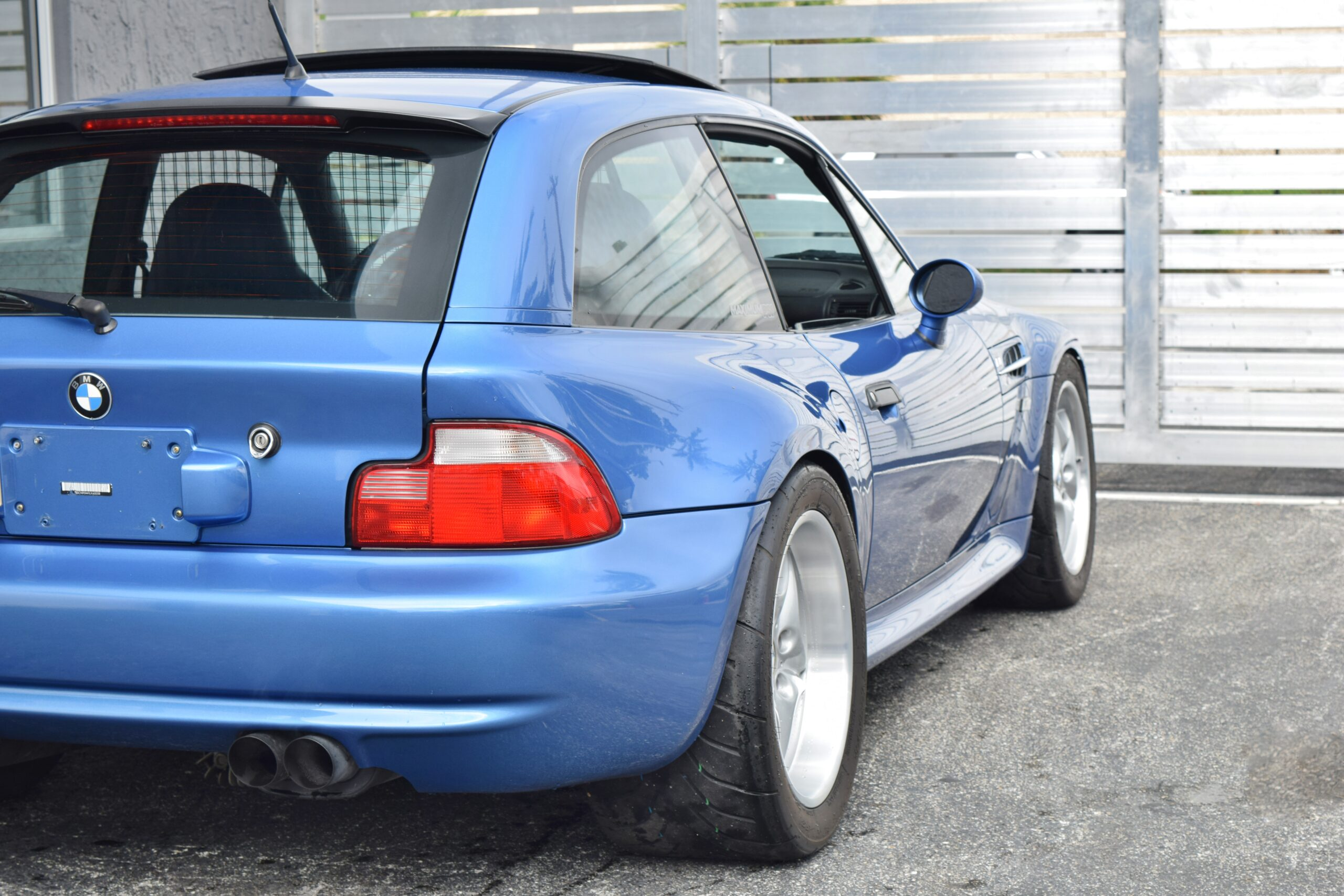 2001 BMW M Roadster & Coupe Z3M COUPE 1 Owner S54 Turbo 700whp -Original Window Sticker- Full Service History from NEW