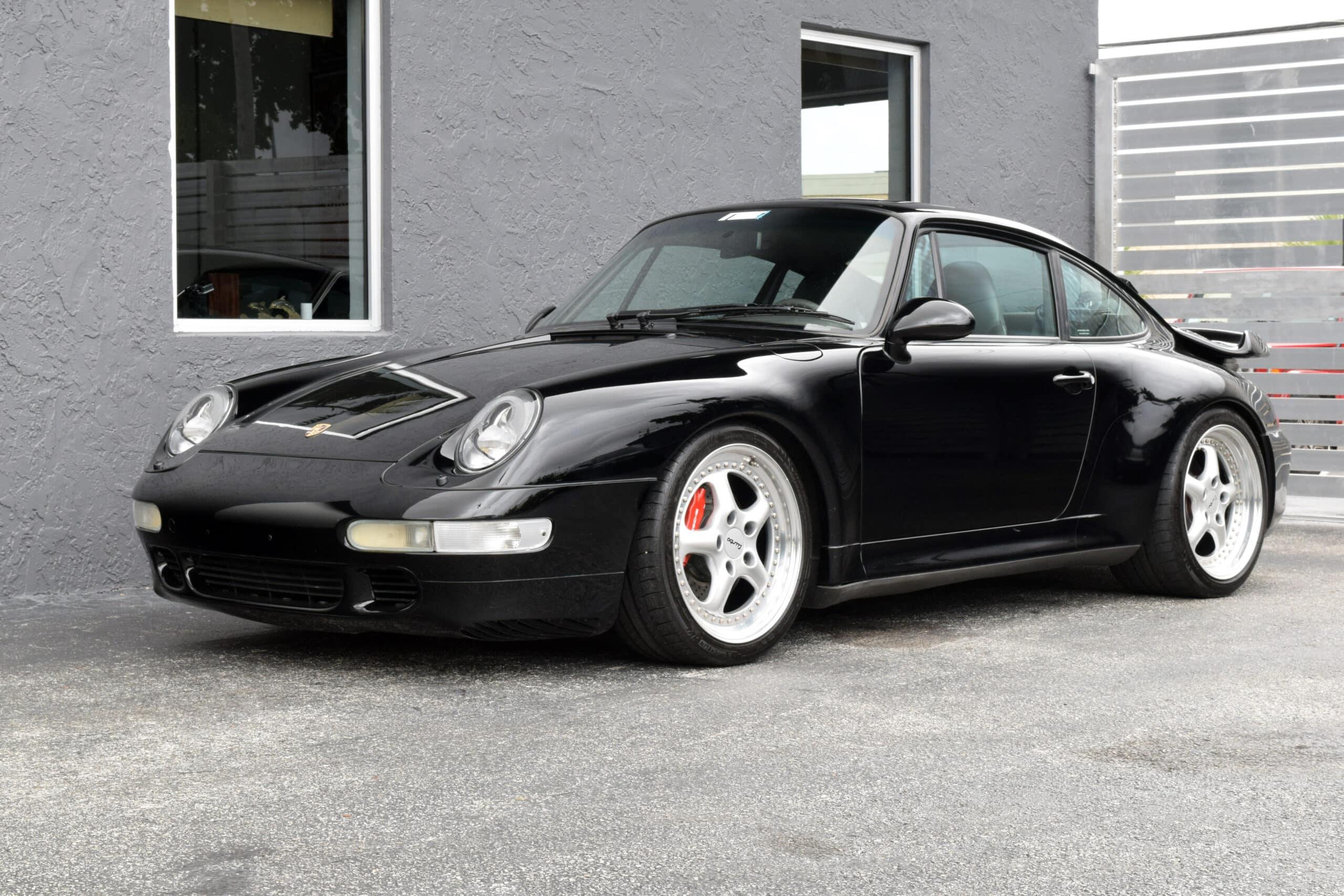 1996 Porsche 993 Turbo, Sports Seats, Carbon interior, major service