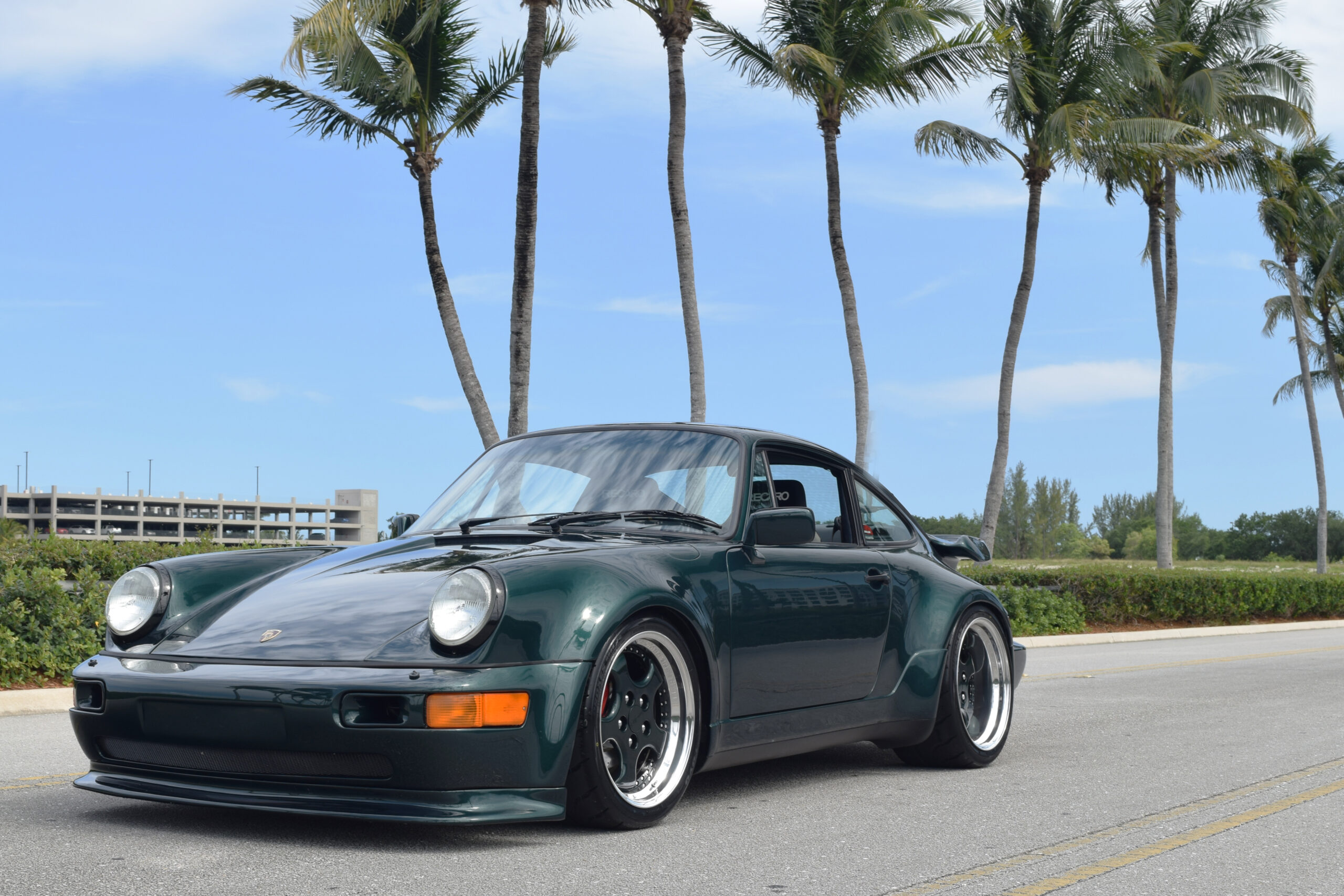 1990 Porsche 911 964 Carrera 4 Turbo $30k Split Case Rebuild – 3.3L Turbo – Widebody – OG Forest Green – Rotiforms