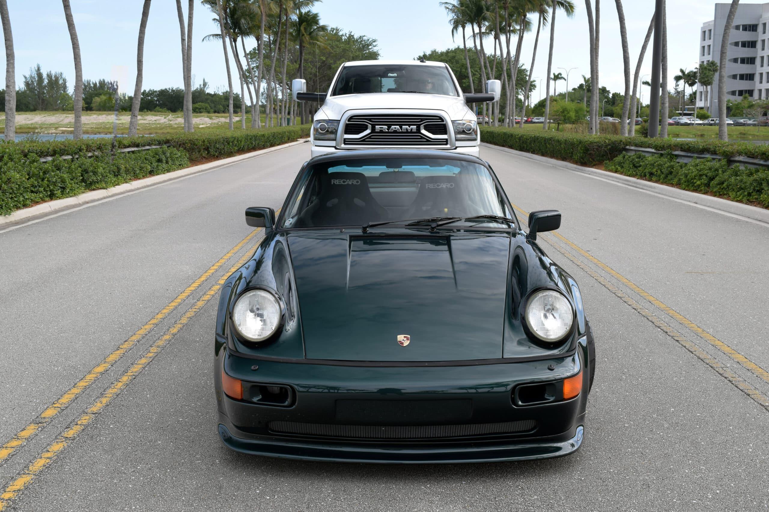 1990 Porsche 911 964 Carrera 4 Turbo $30k Split Case Rebuild – 3.3L Turbo – Widebody – OG Forest Green – Rotiforms