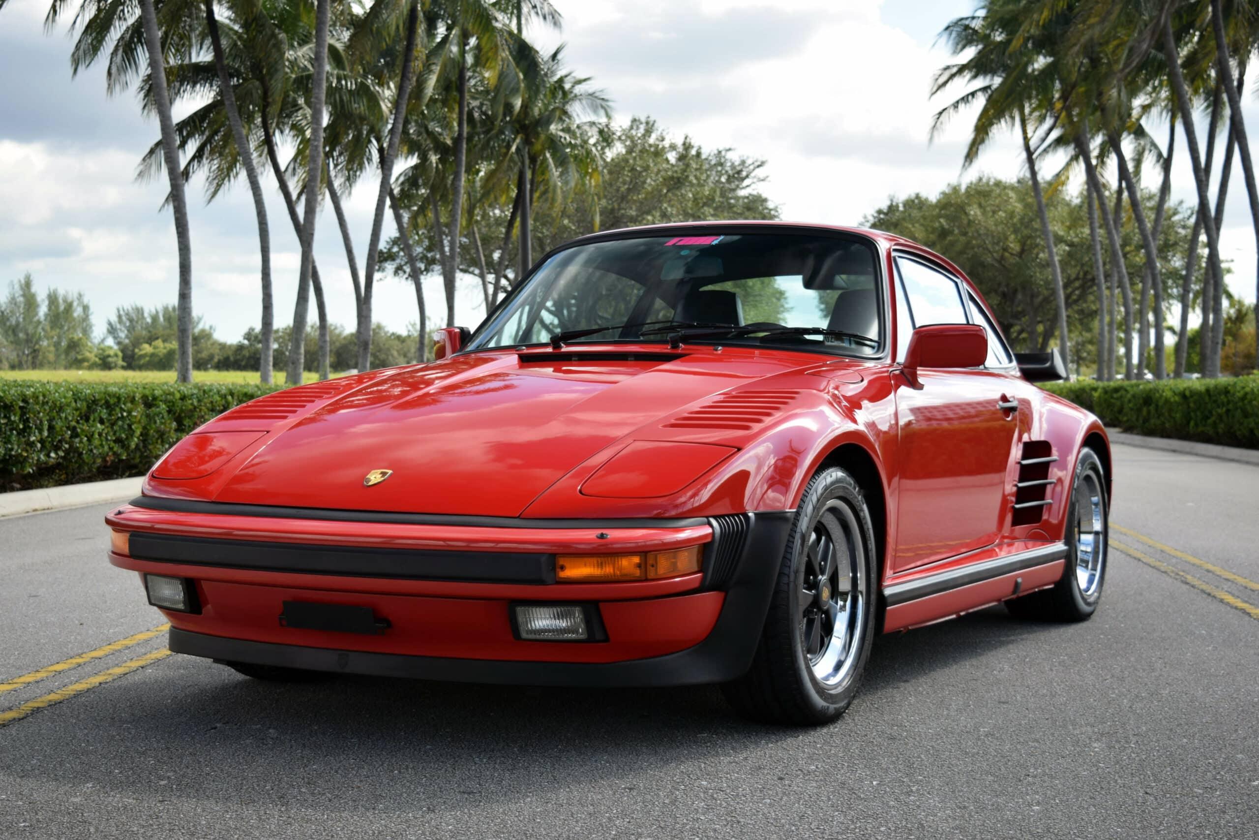 1988 Porsche 930 Slant Nose, 7K original miles, original M505