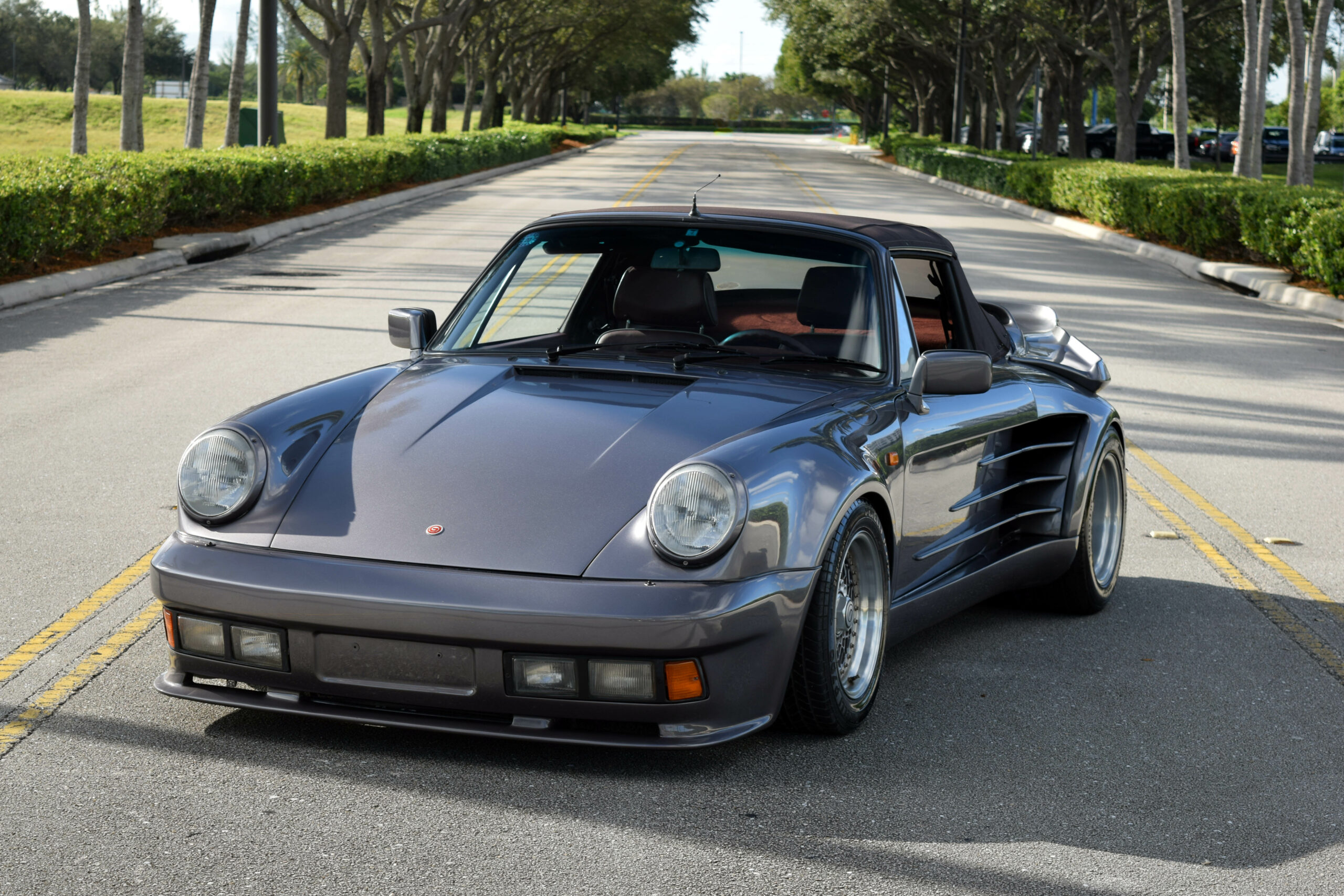 1993 Porsche 911 Gemballa Cyrrus Authentic Gemballa Cyrrus, 1 of 15 ever made – turbo look wide body 930 look