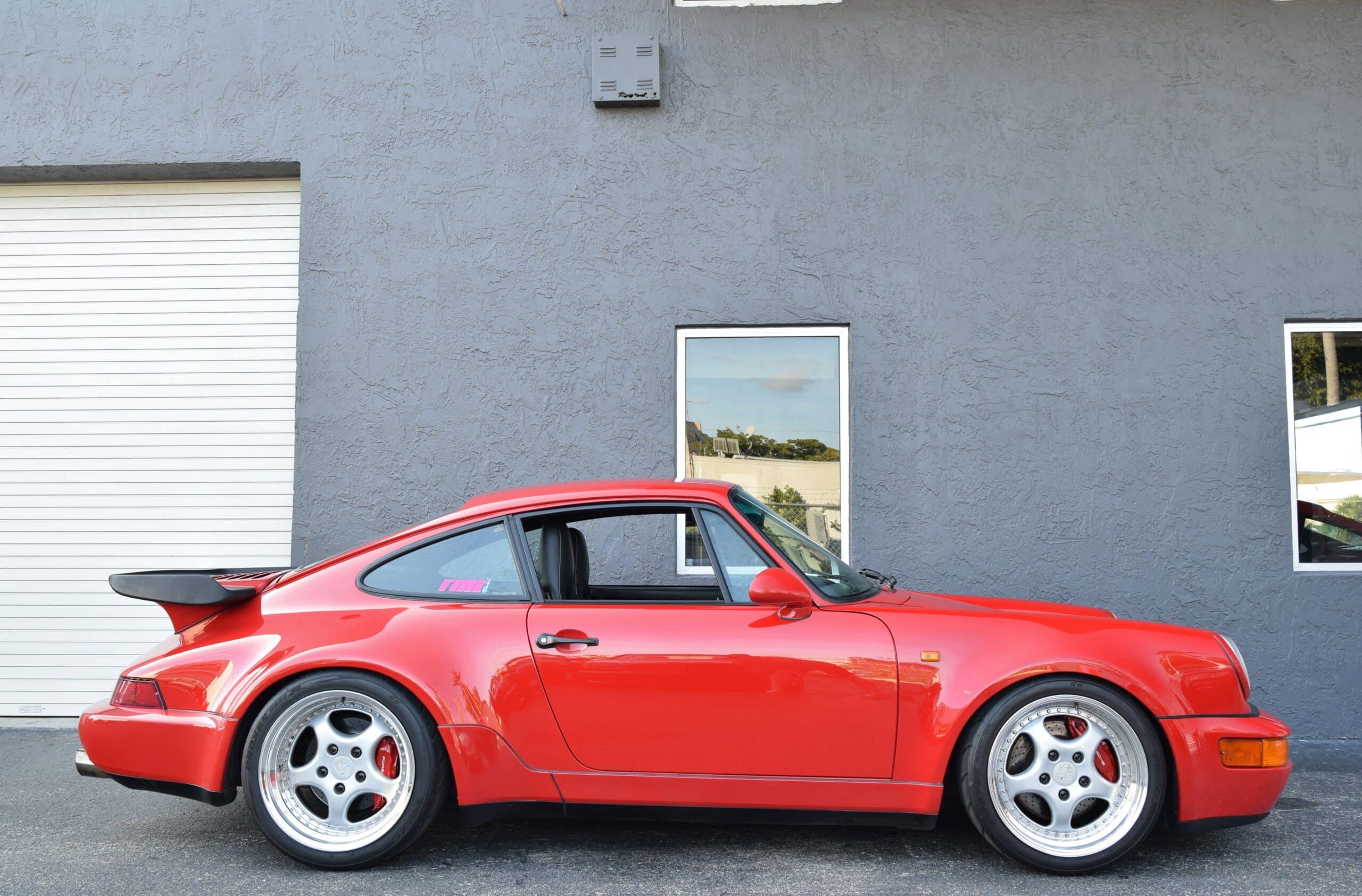 1991 Porsche 911 Turbo 964 28K Miles-Sunroof Delete-Big Brakes-3.8L Twin Plug – Limited Slip Differential