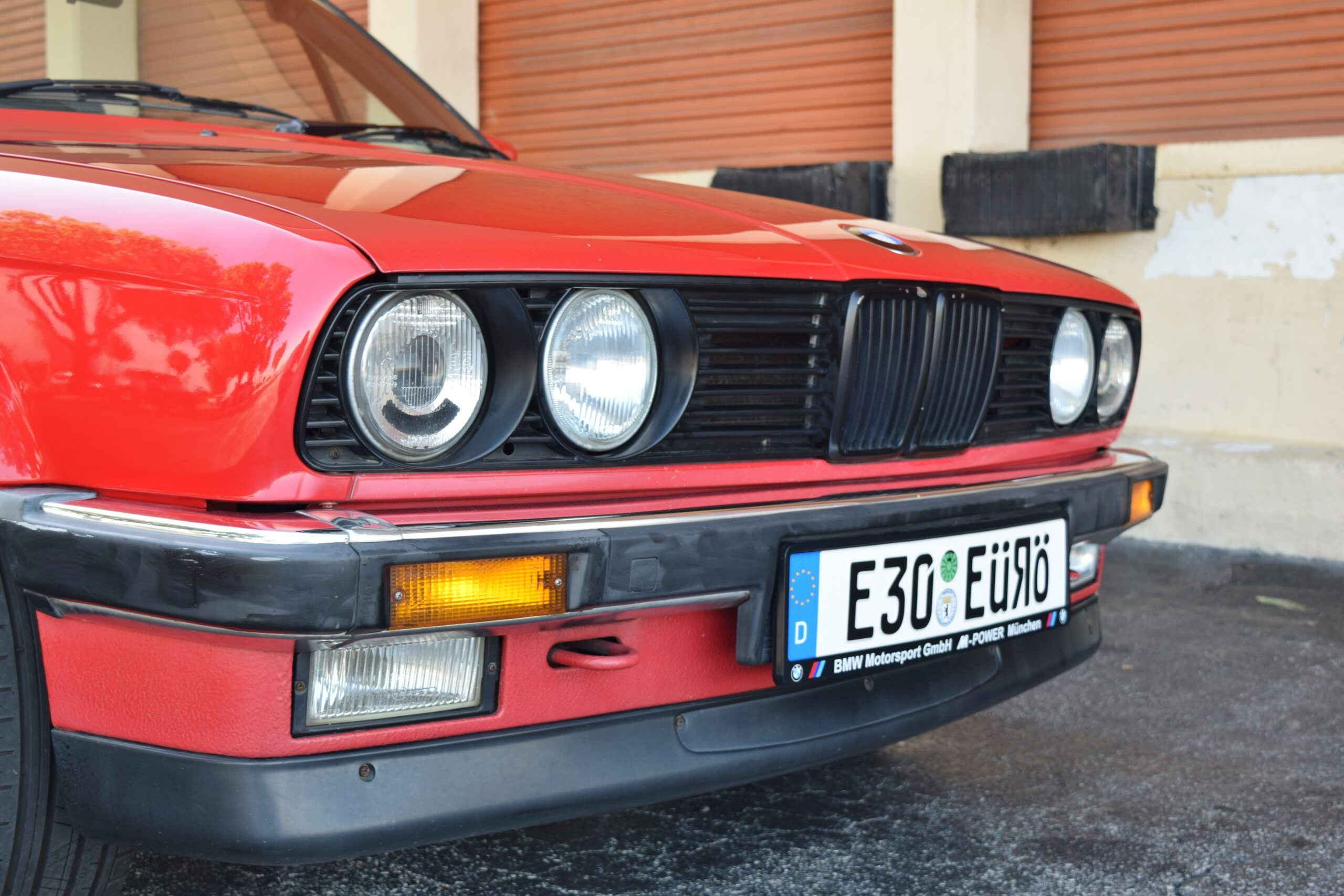 1989 BMW E30 RHD