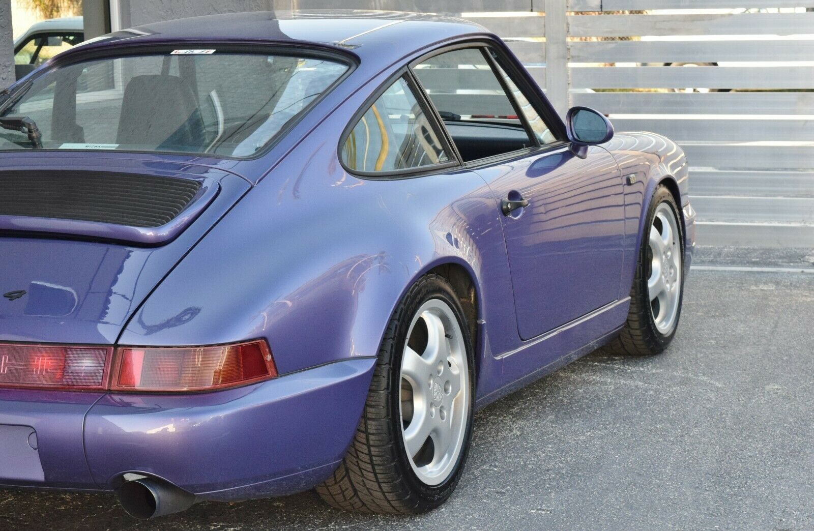 1991 Porsche 911 Carrera 4 964 Coupe Viola Blue Metallic-Euro-SUNROOF DELETE-ONLY 33K MILES-Certificate of authenticity