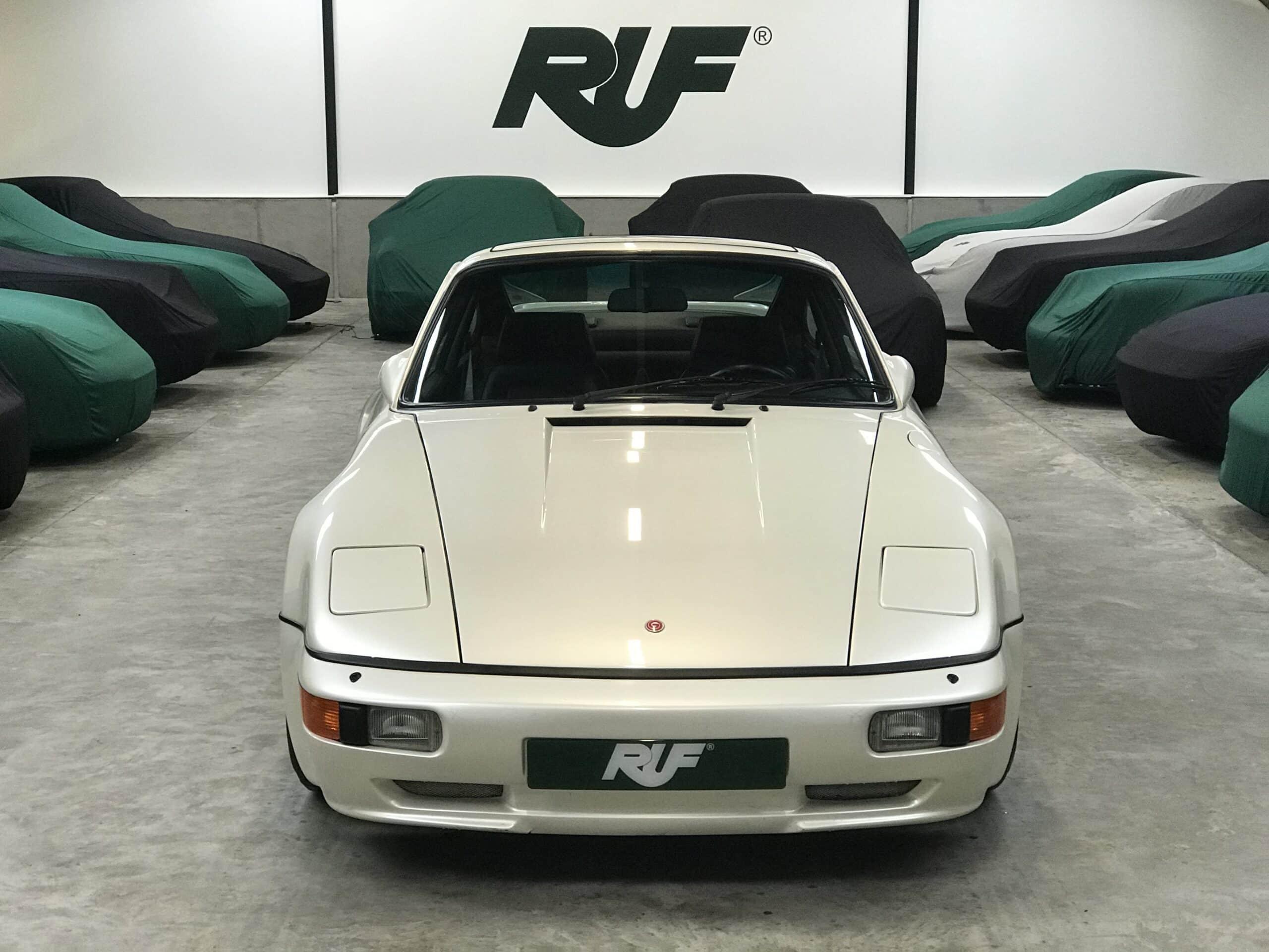 1986 Gemballa Avalanche – RUF 3.4L Turbo – Only 14k Miles – RUF Dogleg Transmission