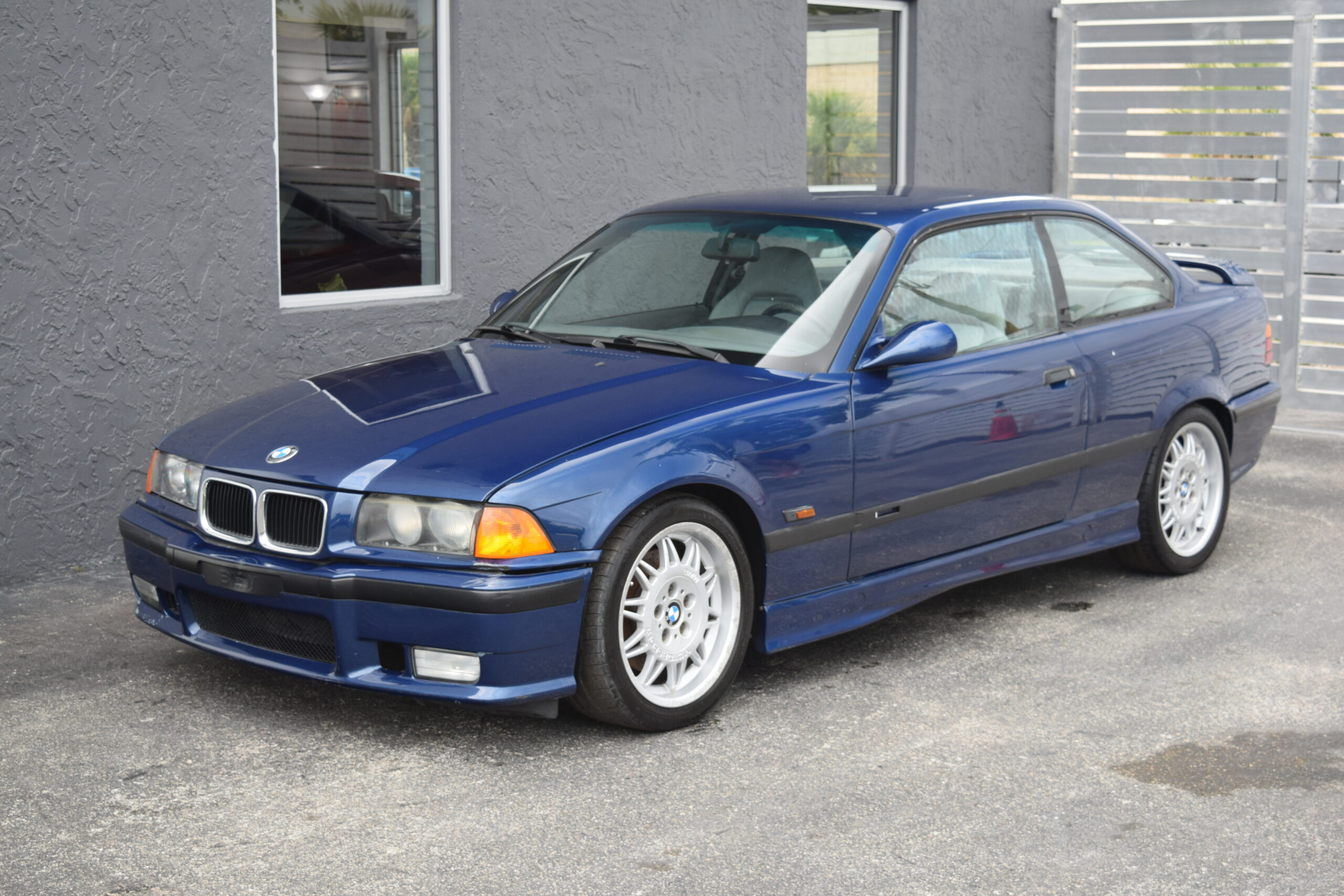 1995 BMW M3 COUPE AVUS BLUE, ONE OWNER, CLEAN CARFAX, UNMODIFIED RUNNING PROJECT CAR