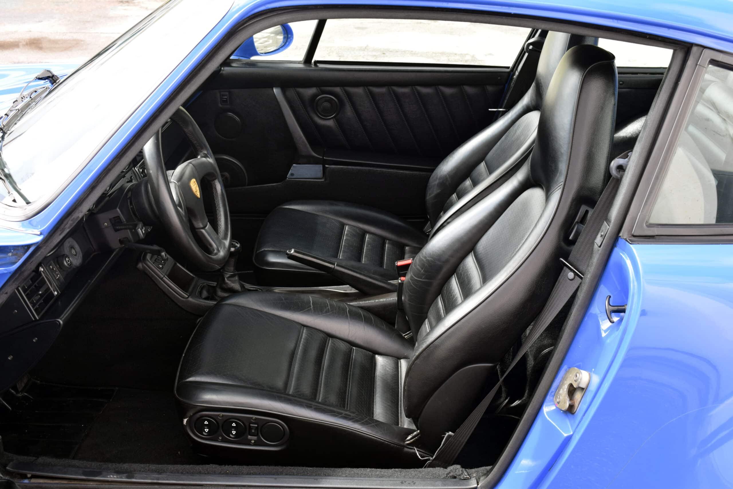 1991 Porsche 911 964 Turbo Only 49k Miles Very Rare Maritim Blue -COA- Fresh engine out service – Like New