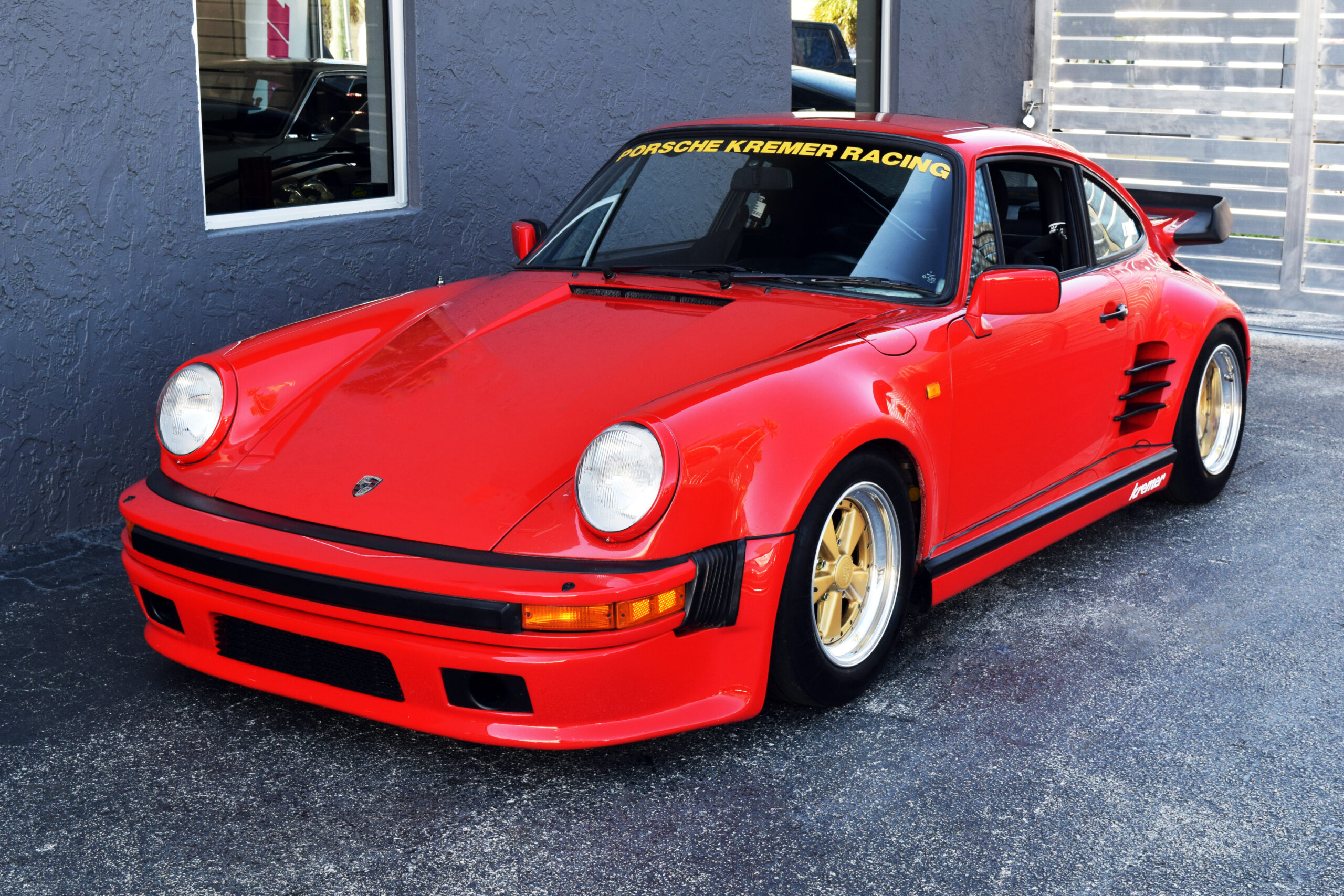 1984 911 Turbo (930) Kremer, real deal #046 3.5-liter engine, NACA ducts, Compomotive wheels, DP/935 Lollipop seats, Matter Cage