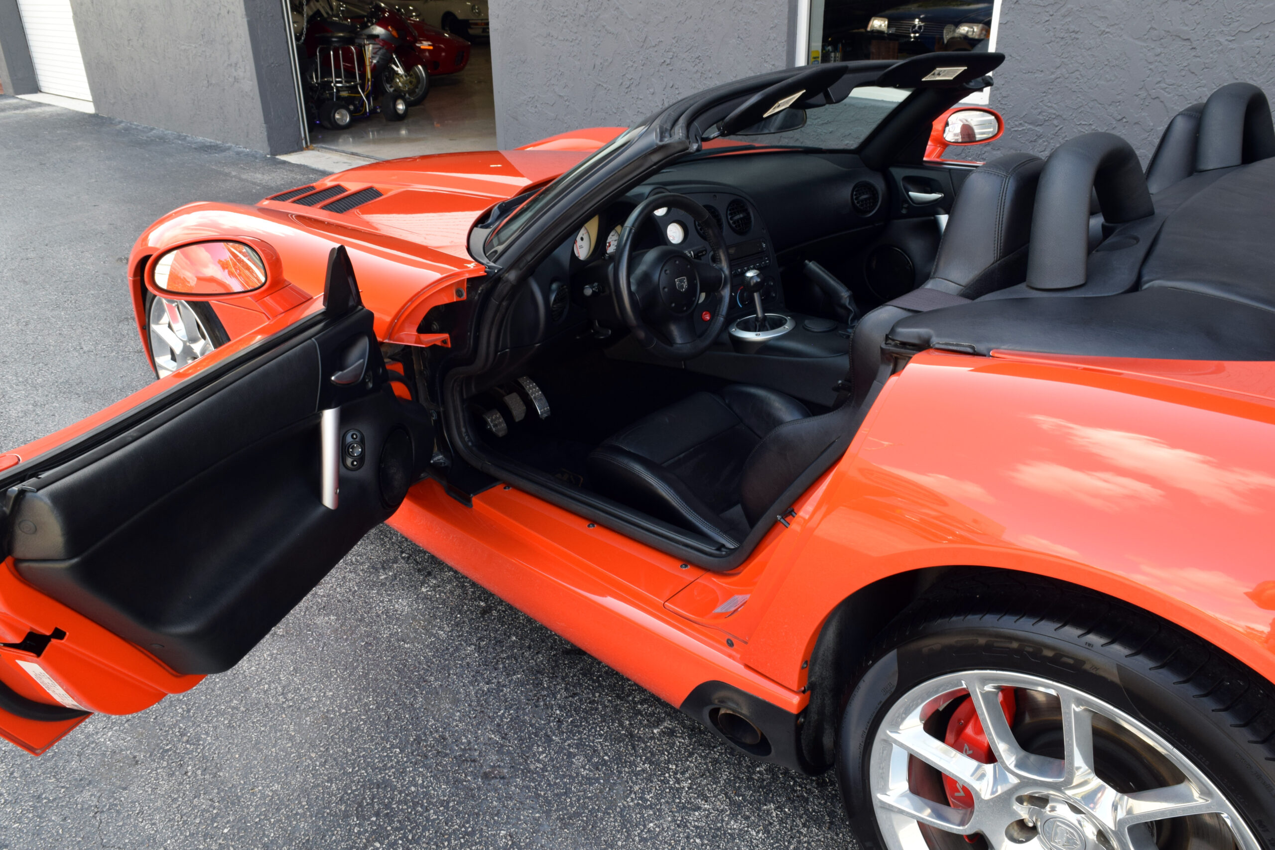 2008 Viper SRT10 Roadster, rare Viper Very Orange Pearl, only 29K miles, amazing original condition.