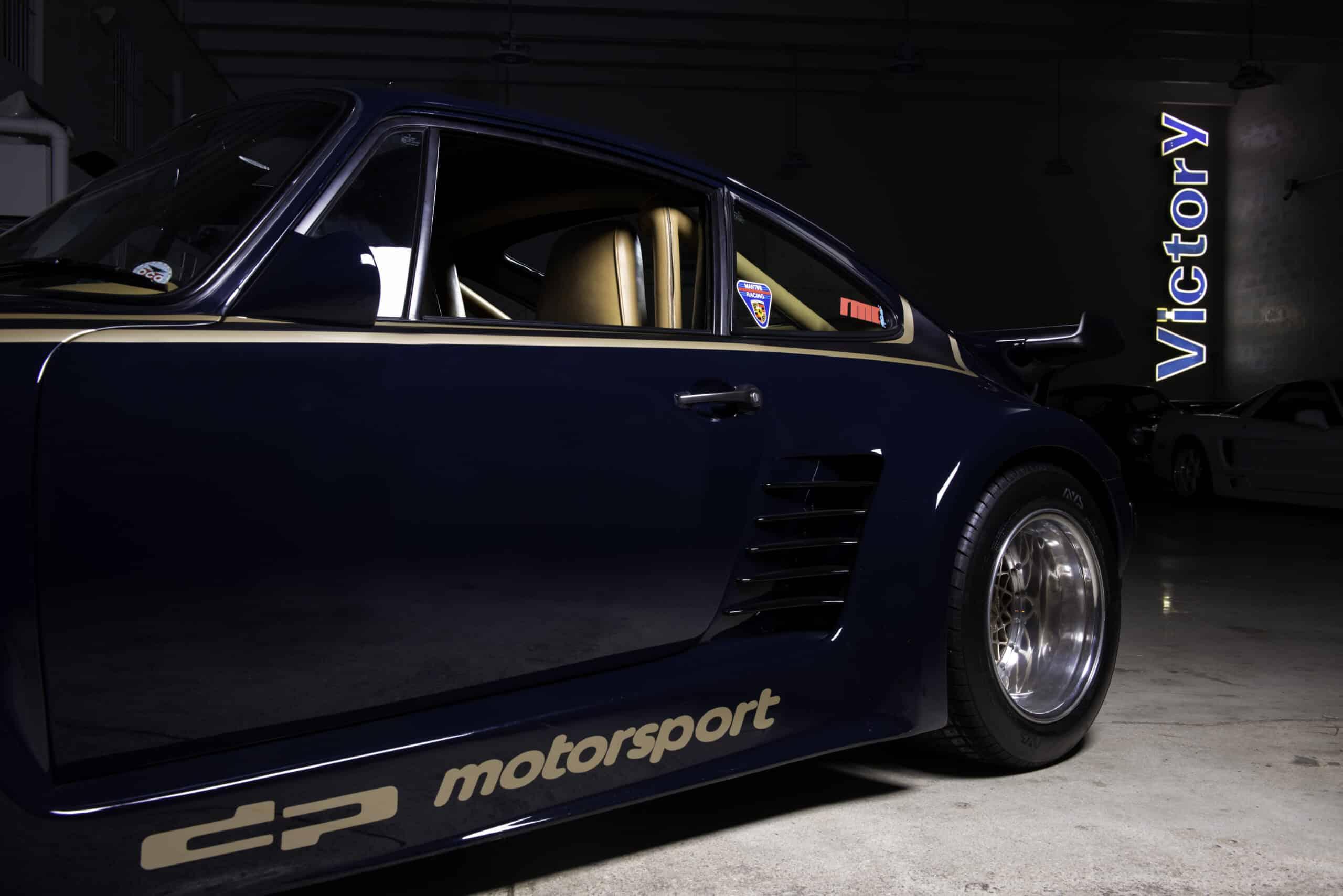 1985 Porsche Turbo 935/930 DP Motorsport dp Motorsport / Kremer 935 TURBO built for MARIO ANDRETTI