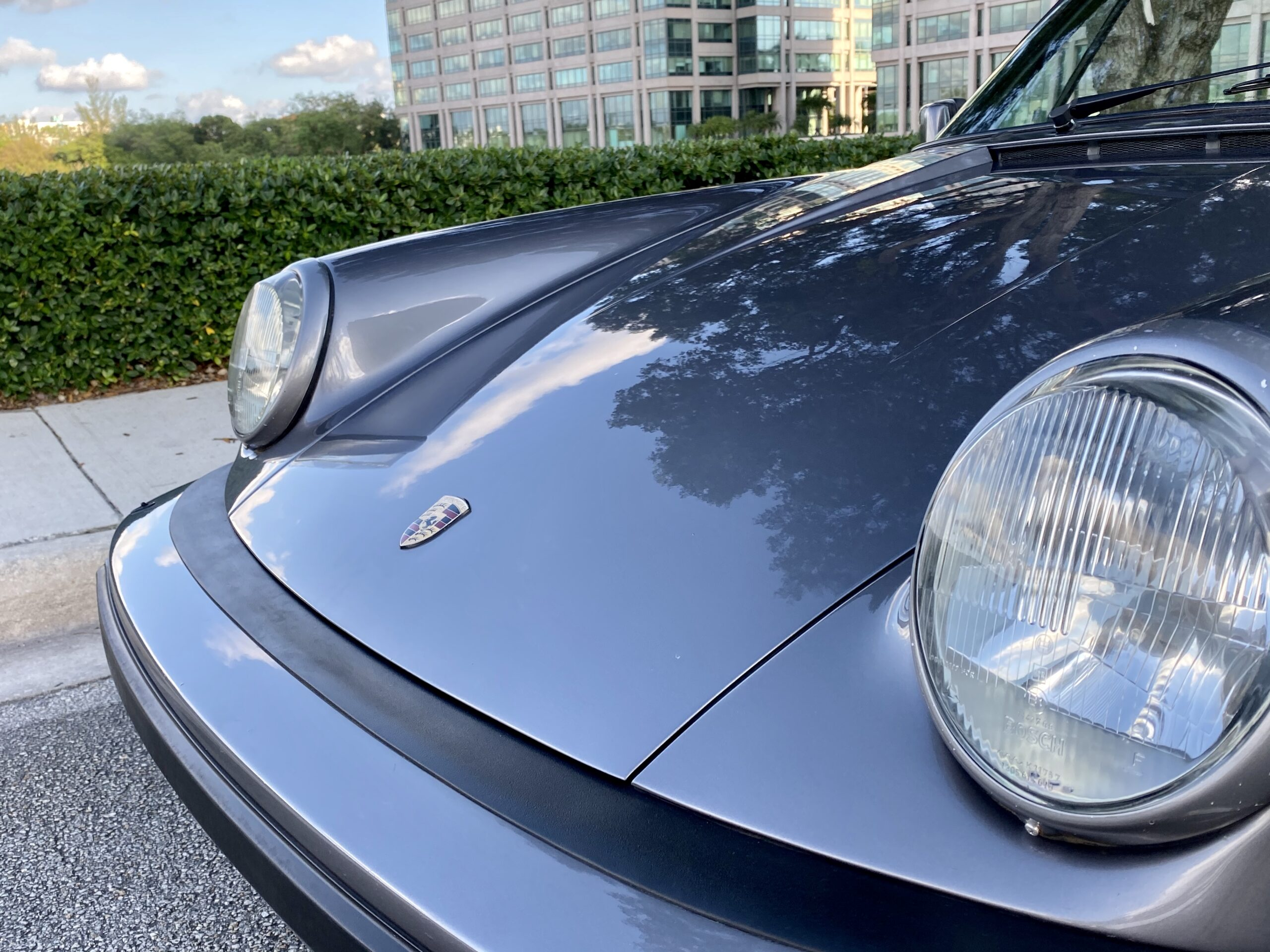 1985 Porsche 911 M491 Widebody Turbo Look FACTORY WIDE BODY TURBO LOOK / M491 / ONLY 39,000 MILES / SPORT SEATS /CABRIOLET