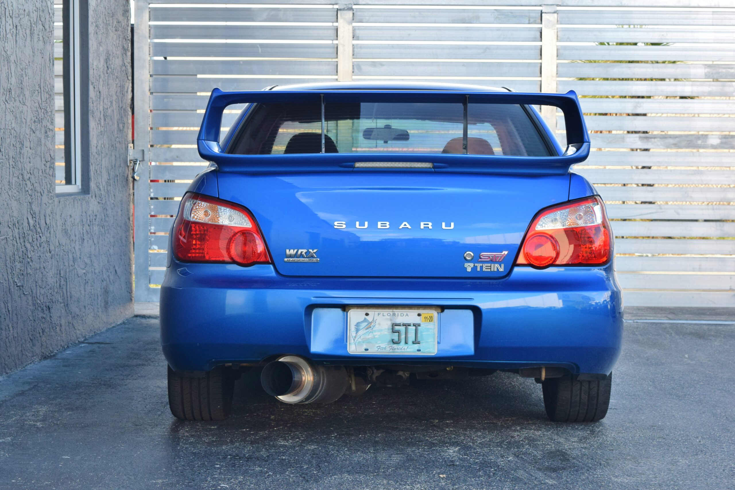2004 Subaru WRX STI 1 Owner – Original Paint – Only 24K Miles – Built Motor – New Clutch – FAST!